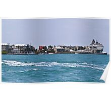Key West Costal View Poster