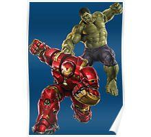 Hulk VS Hulk Buster Poster