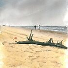 Beach Combers, Nags Head by Anthony Billings