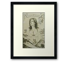 Out of Khaos Came Gaia Framed Print