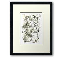 Climate Chains Framed Print