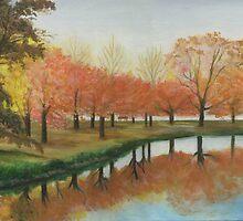 Boston esplanade #2 by Barbara Weir