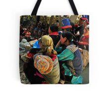 gathering. ladakhi women, india Tote Bag