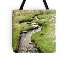 mountain stream. ladakh, india Tote Bag