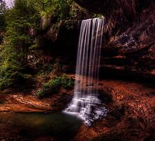 Northrup Falls Tennessee by James Hoffman