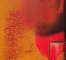 Texture orange 3 by Jean-François Dupuis