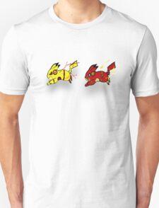 Pika-Flash after Reverse Pika-flash T-Shirt
