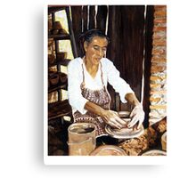 The Potters Hands Canvas Print