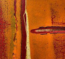 Texture orange 5 by Jean-François Dupuis
