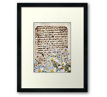 [ Calligraphie ] Framed Print