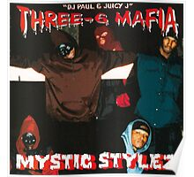 Three 6 mafia Poster