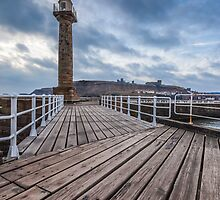 Whitby Pier by JohnHall936