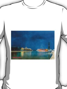 Snow Showers Over Moscow T-Shirt