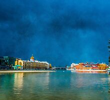 Snow Showers Over Moscow by luckypixel