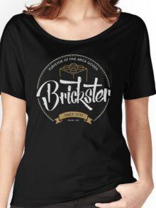 Brickster - Purveyor of Fine Brick Goods Women's Relaxed Fit T-Shirt