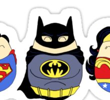 Justice League Tiggles Sticker