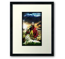 A Father's Promise Framed Print