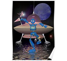 Robots on Water World Poster