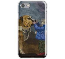 Dog & Child iPhone Case/Skin