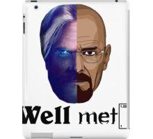 Well meth iPad Case/Skin