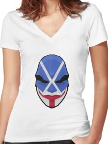 Payday's Bonnie - low poly Women's Fitted V-Neck T-Shirt