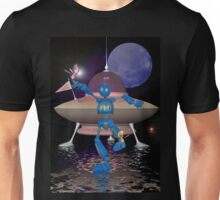 Robots on Water World Unisex T-Shirt