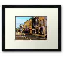 Empty Town 2 Framed Print