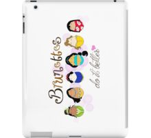 Brunette Disney Ladies iPad Case/Skin
