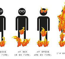 I'm on Fire by Nick Keeble