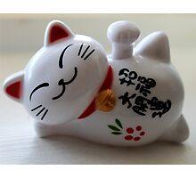 Maneki Neko (Fortune Cat) Photographic Print