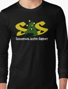 Socceroos Active Support Hoodie Long Sleeve T-Shirt