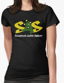 Socceroos Active Support Hoodie Womens Fitted T-Shirt