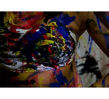 Paint Photographic Print