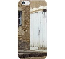 Chateau Door And Window iPhone Case/Skin