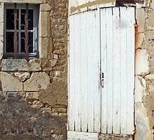 Chateau Door And Window by phil decocco