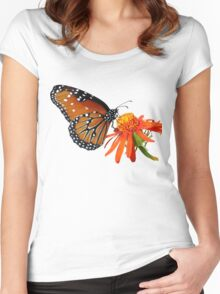 Queen T Women's Fitted Scoop T-Shirt