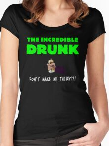 The Incredible Drunk (dark shirts) Women's Fitted Scoop T-Shirt