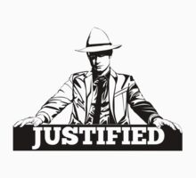 Justified Silhouette Art Kids Clothes