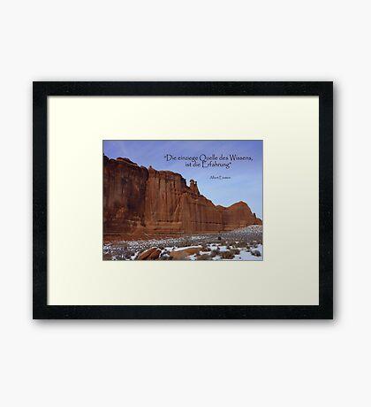 MOAB Splendour Framed Print