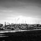 Poole harbour by Tracey-Anne Pryke