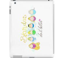 Blonde Disney Ladies iPad Case/Skin