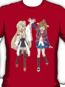Kongou and Karen cross-over T-Shirt