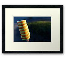 Popsicle Framed Print