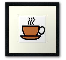 Fresh Cup of Coffee Framed Print