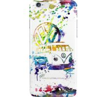 Volkswagen Kombi Splash © iPhone Case/Skin