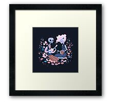 Rhythm of Grief (Day of the Dead) Framed Print