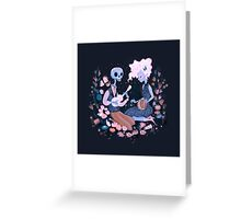 Rhythm of Grief (Day of the Dead) Greeting Card