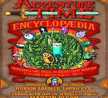 Adventure Time Encyclopedia cover by JackCustomArt