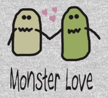 Monster Love Tee by Alexandra Felgate