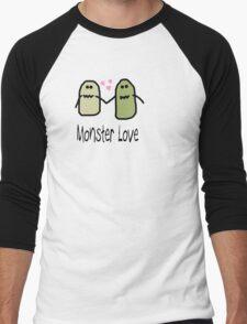 Monster Love Tee Men's Baseball ¾ T-Shirt
